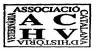 Web de l'Associació Catalana d'Història de la Veterinària